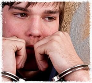boy in cuffs