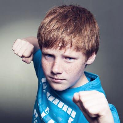 Should Boys Fight Back?