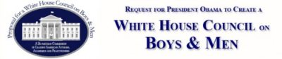 Building a White House Council on Boys & Men