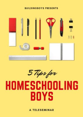 5 Tips for Homeschooling Boys -- a teleseminar @ Vancouver | Washington | United States